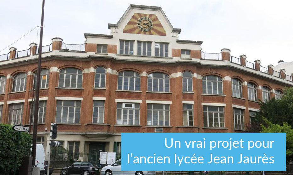 Un vrai projet pour l'ancien lycée Jean Jaurès